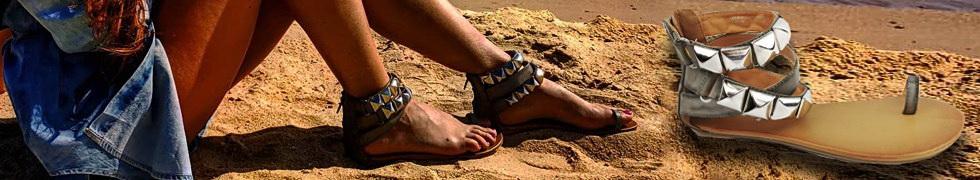 Sandały na Palec Ćwieki