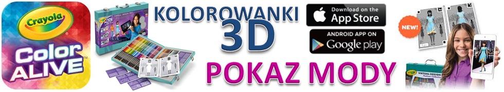 CRAYOLA 3D POKAZ MODY
