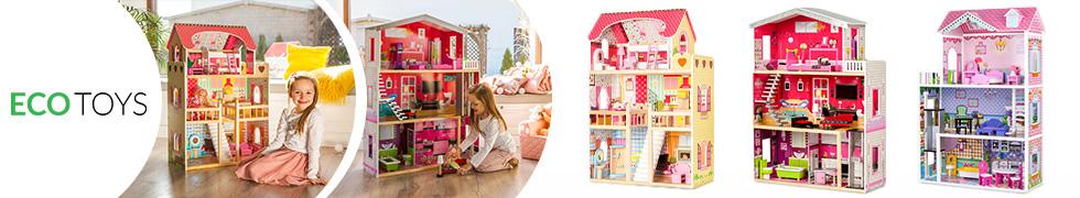 Domki dla lalek ECOTOYS