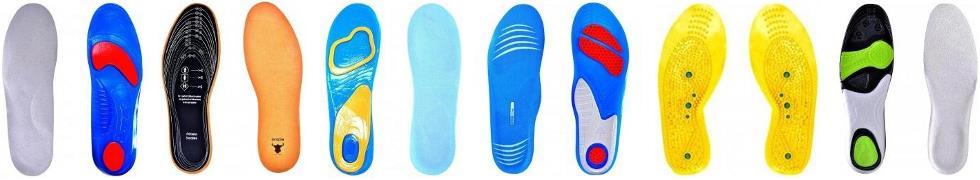 Wygodne wkładki do butów