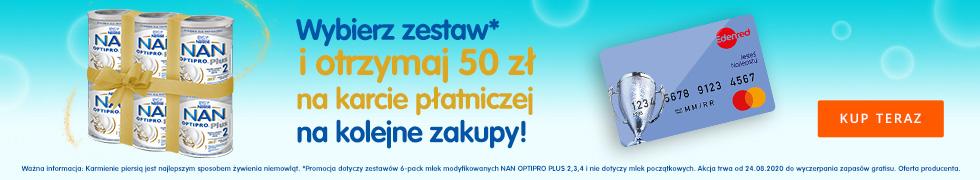 50 zł GRATIS do NAN 2!