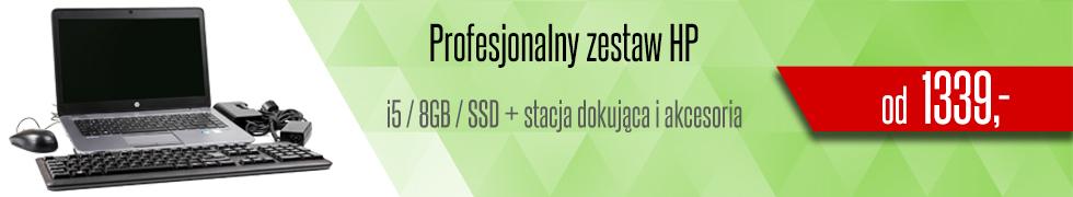 Laptop HP - Zestaw PROMO