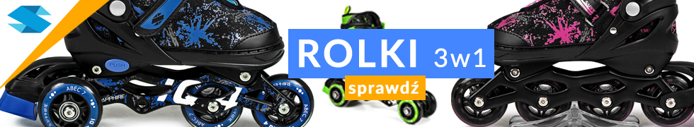 ROLKI SAPPHIRE 3w1