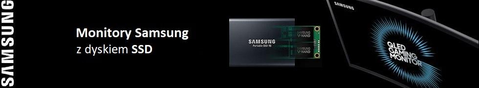 Monitory Samsung + SSD