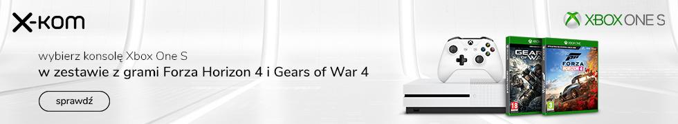 Xbox One S 1TB 4K +2 gry