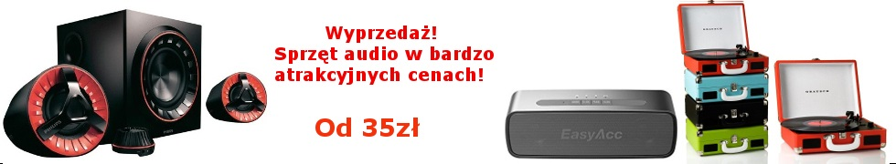Sprzęt audio od 35zł!