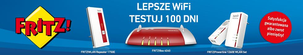 Lepsze WiFi Testuj 100dni