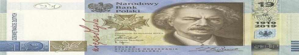 19 zł 100-lecie PWPW 2019