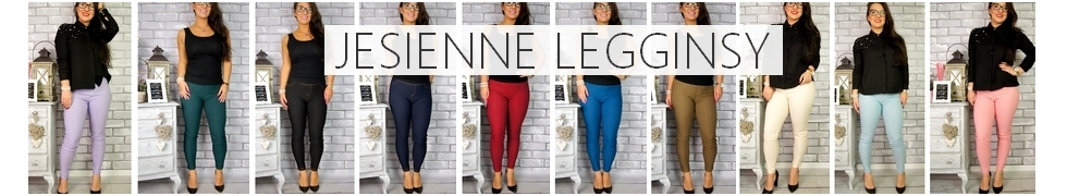 Jesienne Spodnie/Legginsy