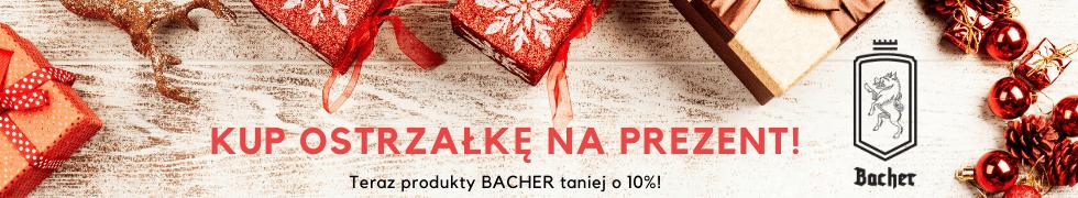 Bacher -10% na Święta!