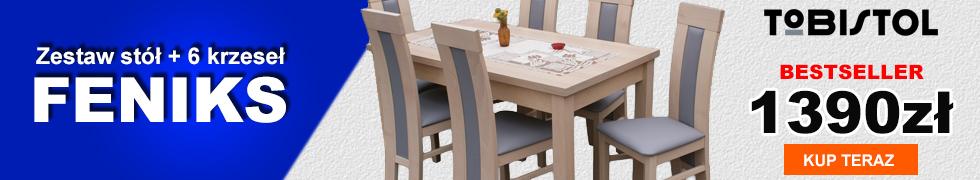 Zestaw FENIKS 6 krzeseł
