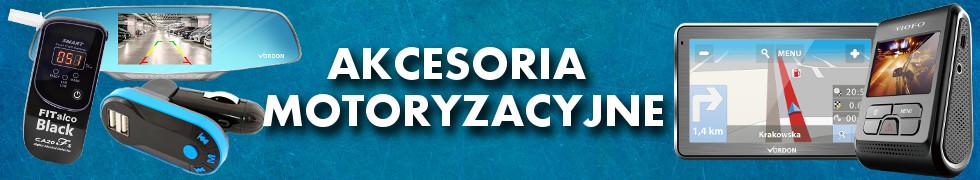 AKCESORIA MOTORYZACYJNE
