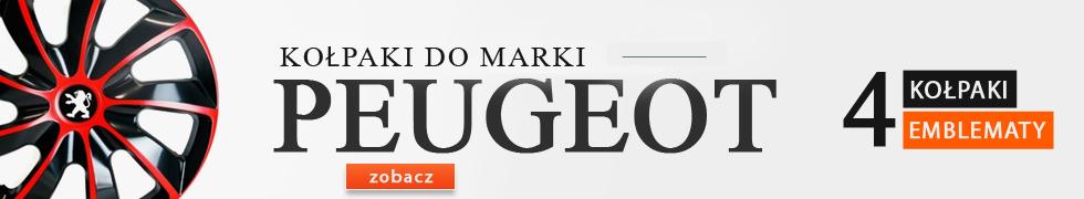 Kołpaki do marki Peugeot