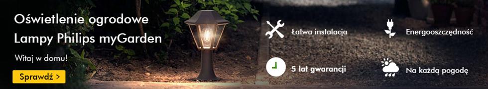 Lampy ogrodowe Philips!