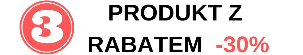 Rabat na 3 produkt*
