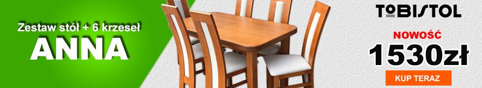 Zestaw ANNA 6 krzeseł