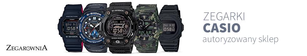 Oryginalne zegarki Casio