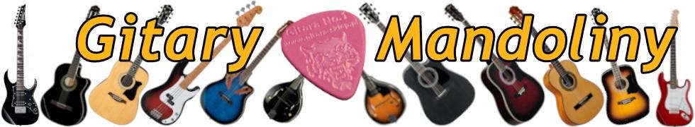 Gitary, Mandoliny
