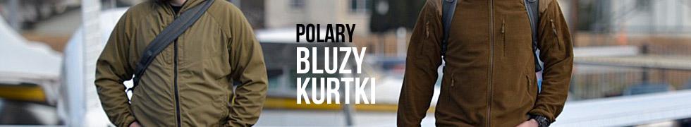 Polary, bluzy, kurtki