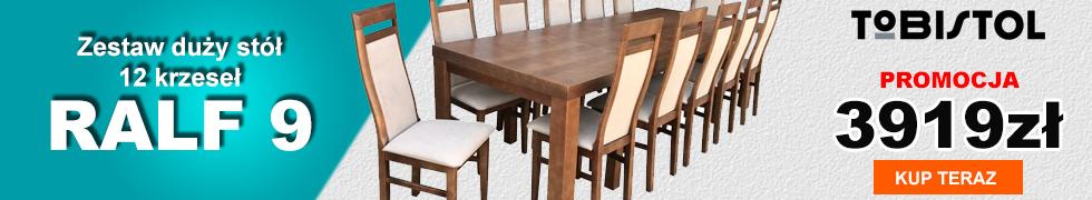 Zestaw RALF9 - 12 krzeseł