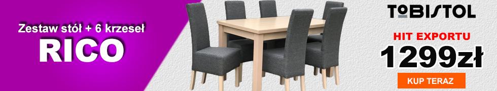 Zestaw RICO 6 krzeseł