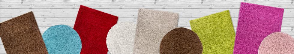 Kolekcja dywanów Shaggy