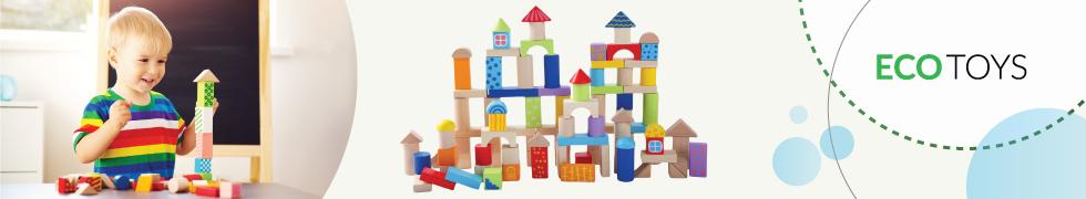 Drewniane zabawki Ecotoys