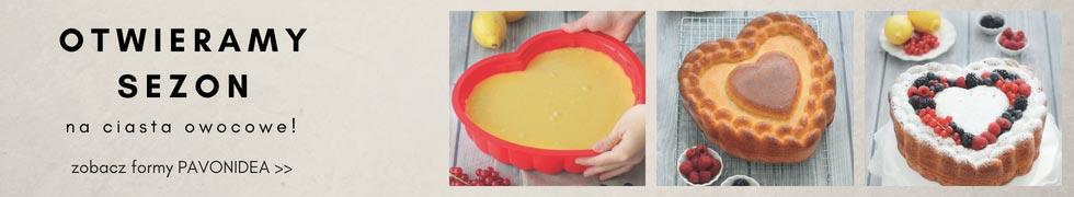 Formy do ciast owocowych
