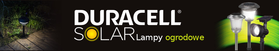 Lampy ogrodowe Duracell