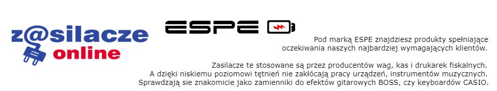 Zasilacze marki ESPE!