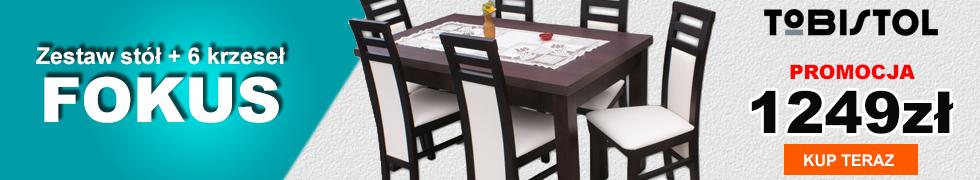 Zestaw FOKUS 6 krzeseł
