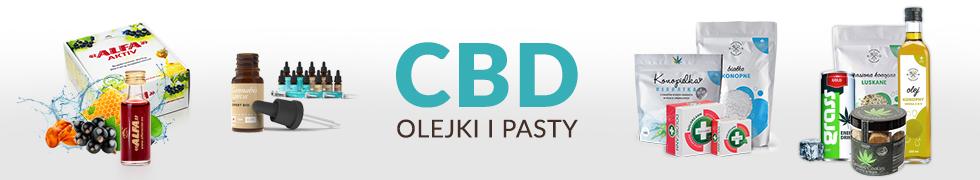 Olejki i pasty CBD