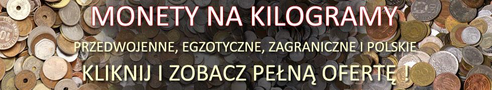 MONETY NA KILOGRAMY