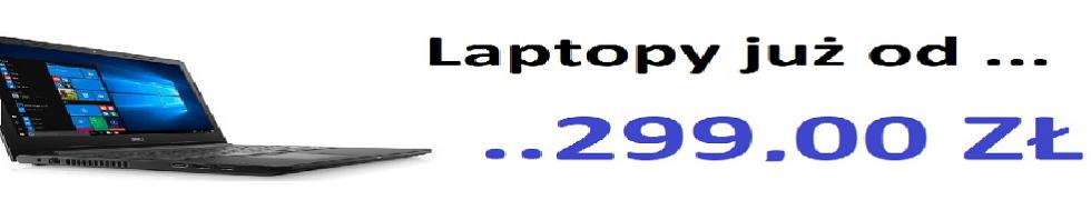 NAJTAŃSZE LAPTOPY