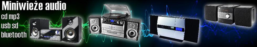 Miniwieże audio