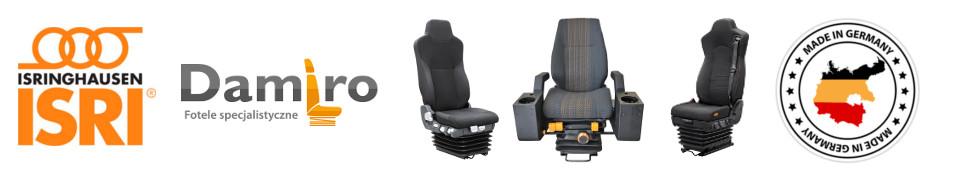 Fotele pneumatyczne ISRI