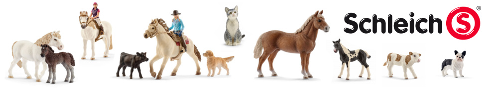 Figurki firmy Schleich