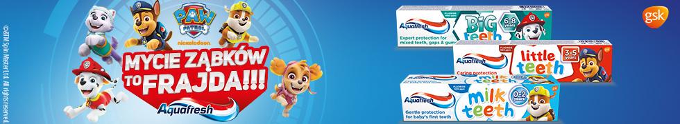 Aquafresh dla dzieci