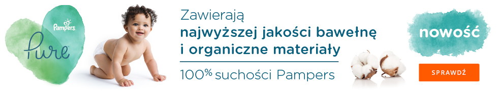 Nowość Pampers Pure