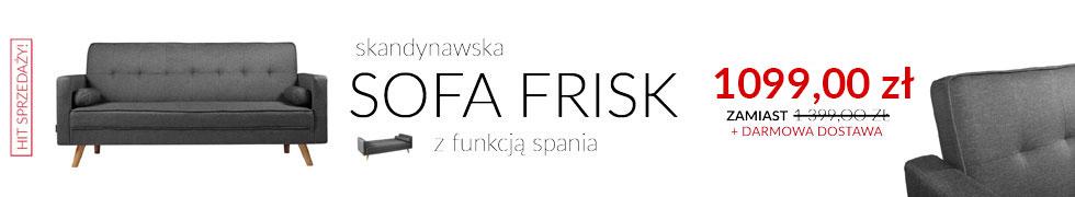 Rozkładana sofa Frisk