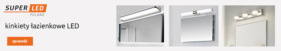 Kinkiety łazienkowe LED