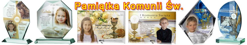 Pamiątka Komunii Św.