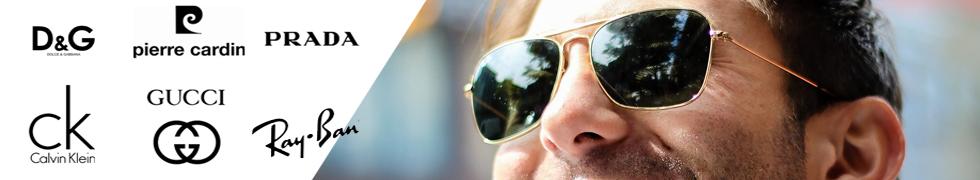 Markowe męskie okulary