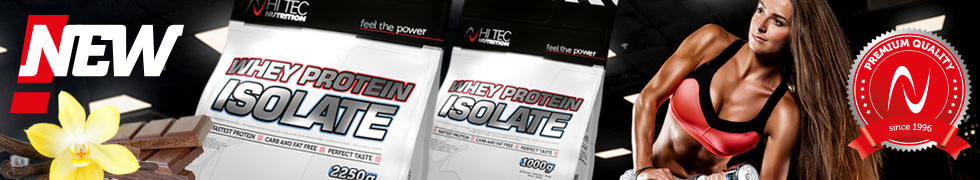 NEW! WHEY PROTEIN ISOLATE