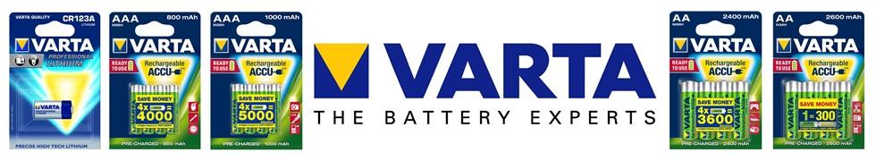Produkty VARTA.
