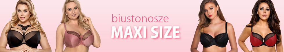 Biustonosze MAXI SIZE
