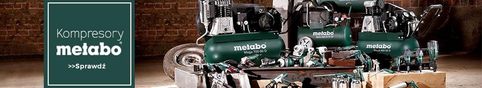Sprężarki tłokowe Metabo