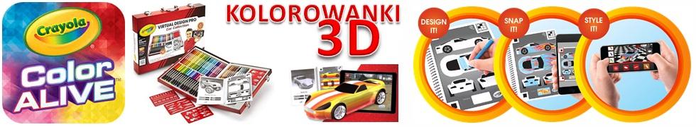 CRAYOLA 3D AUTA