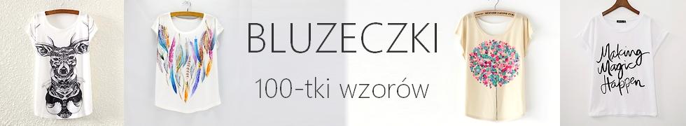 BLUZKI & T-SHIRTY - wzory