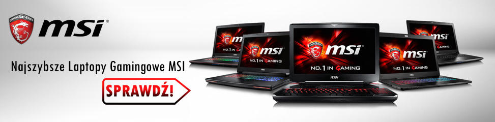 Laptopy gamingowe MSI